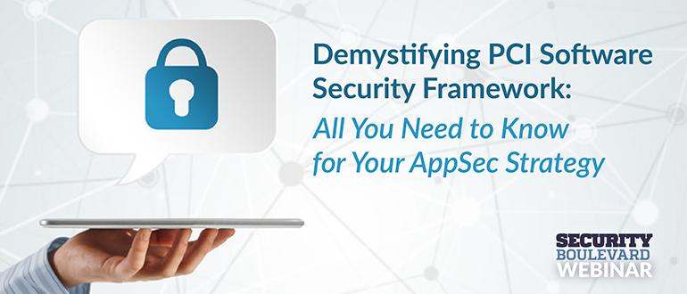 PCI-Software-Security-Framework